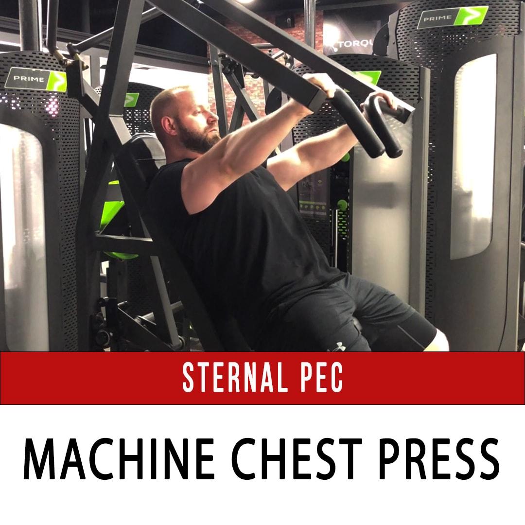 Sternal Pec Chest Press - Prime Hybrid