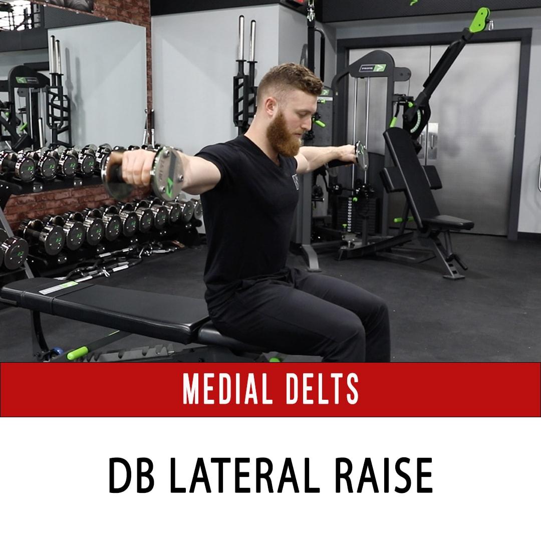 Medial Delt DB Lateral Raise