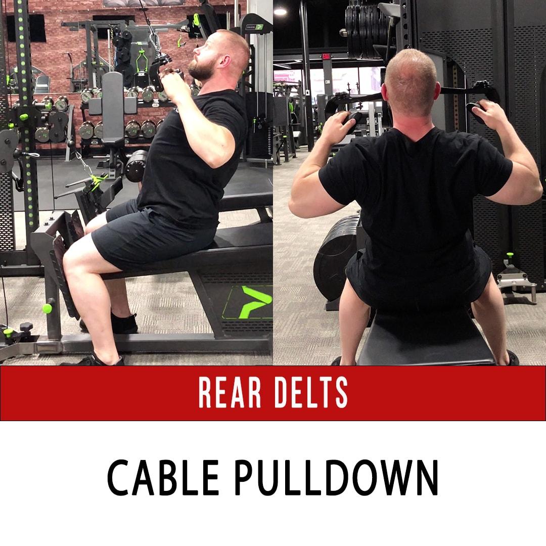 Rear Delt Pulldown