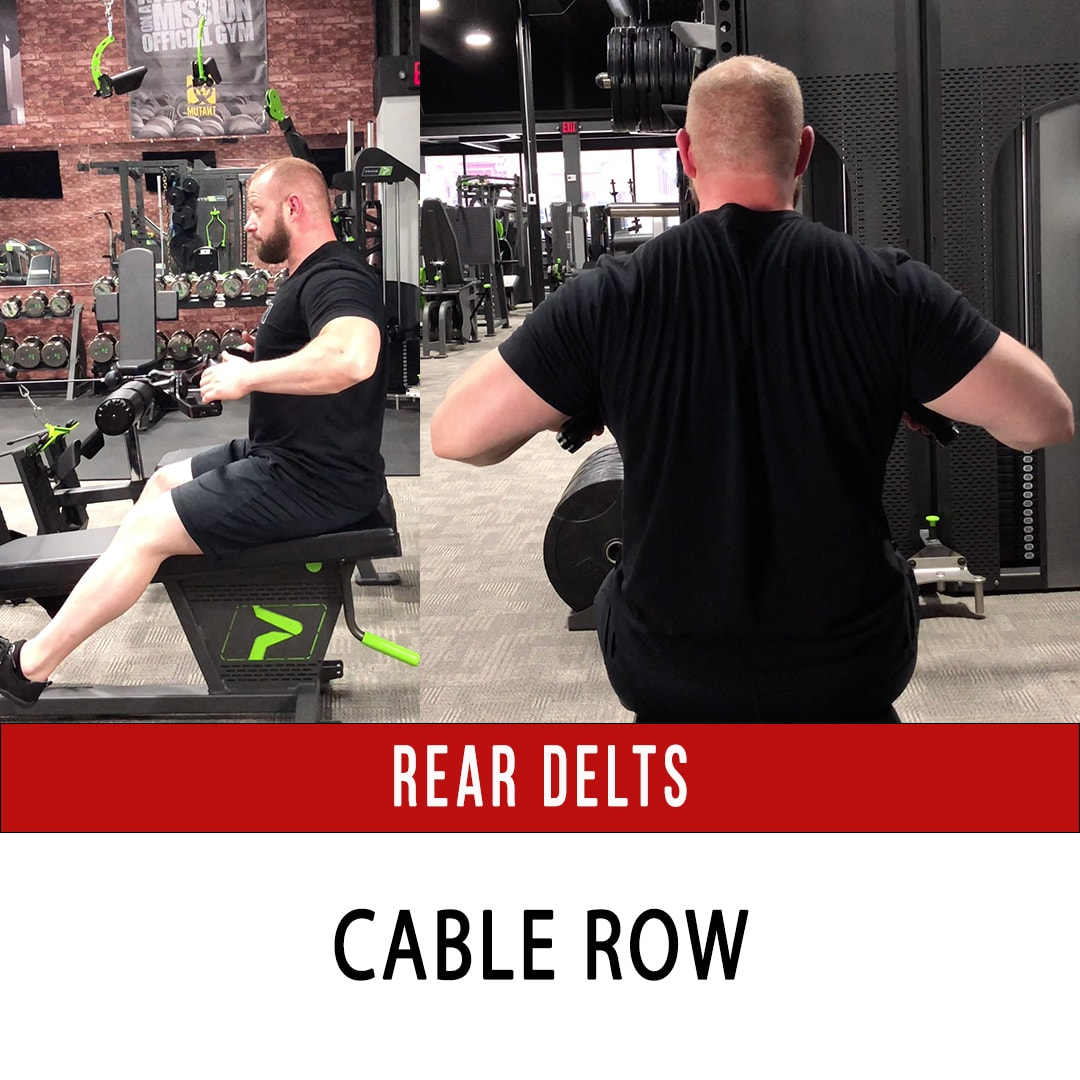 Rear Delt Cable Row