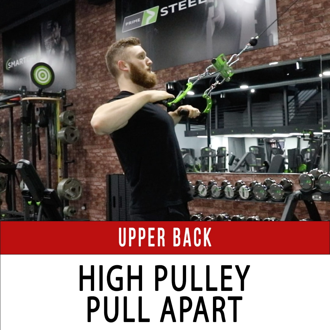 Upper Back Pull Apart High Pulley