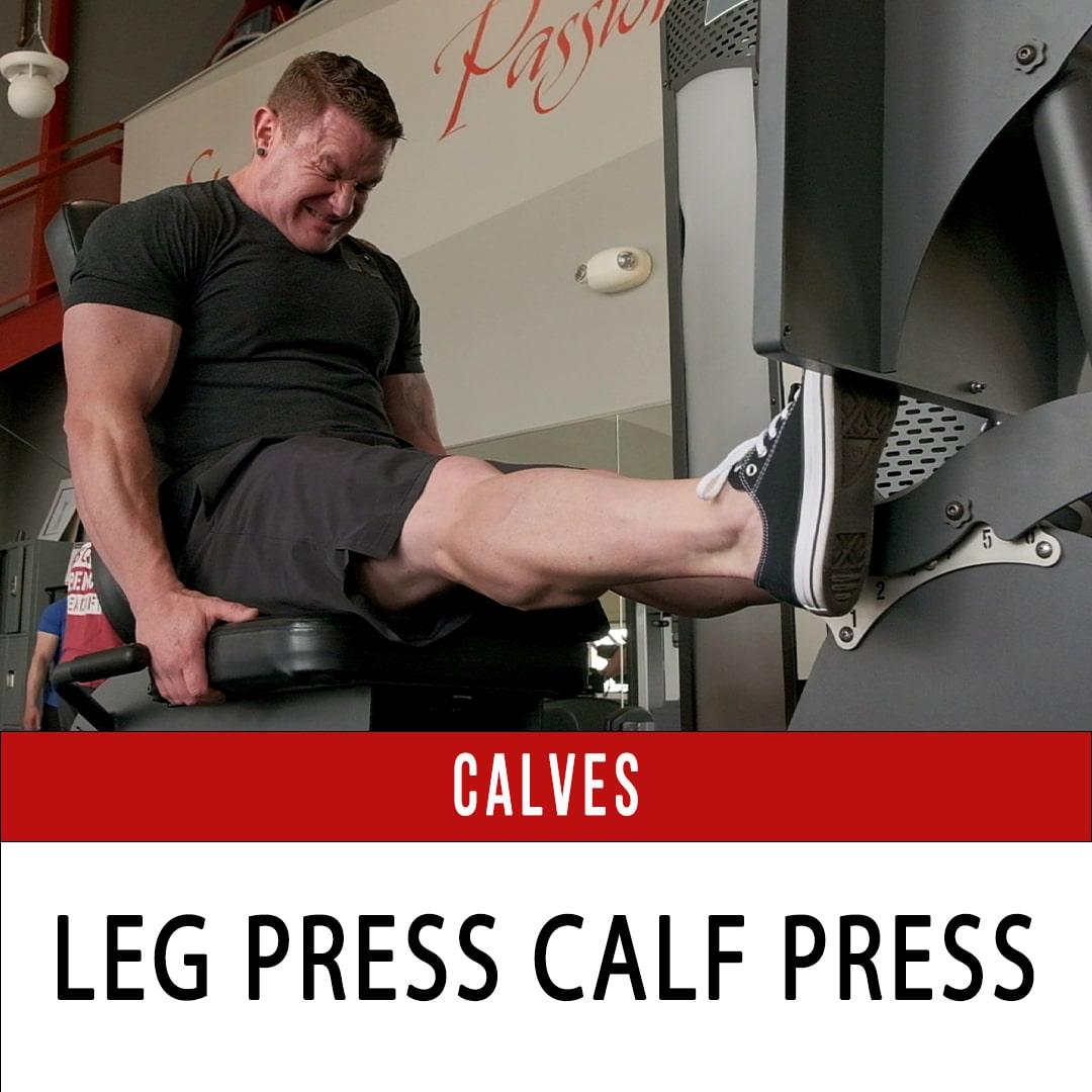 Leg Press Calf Press