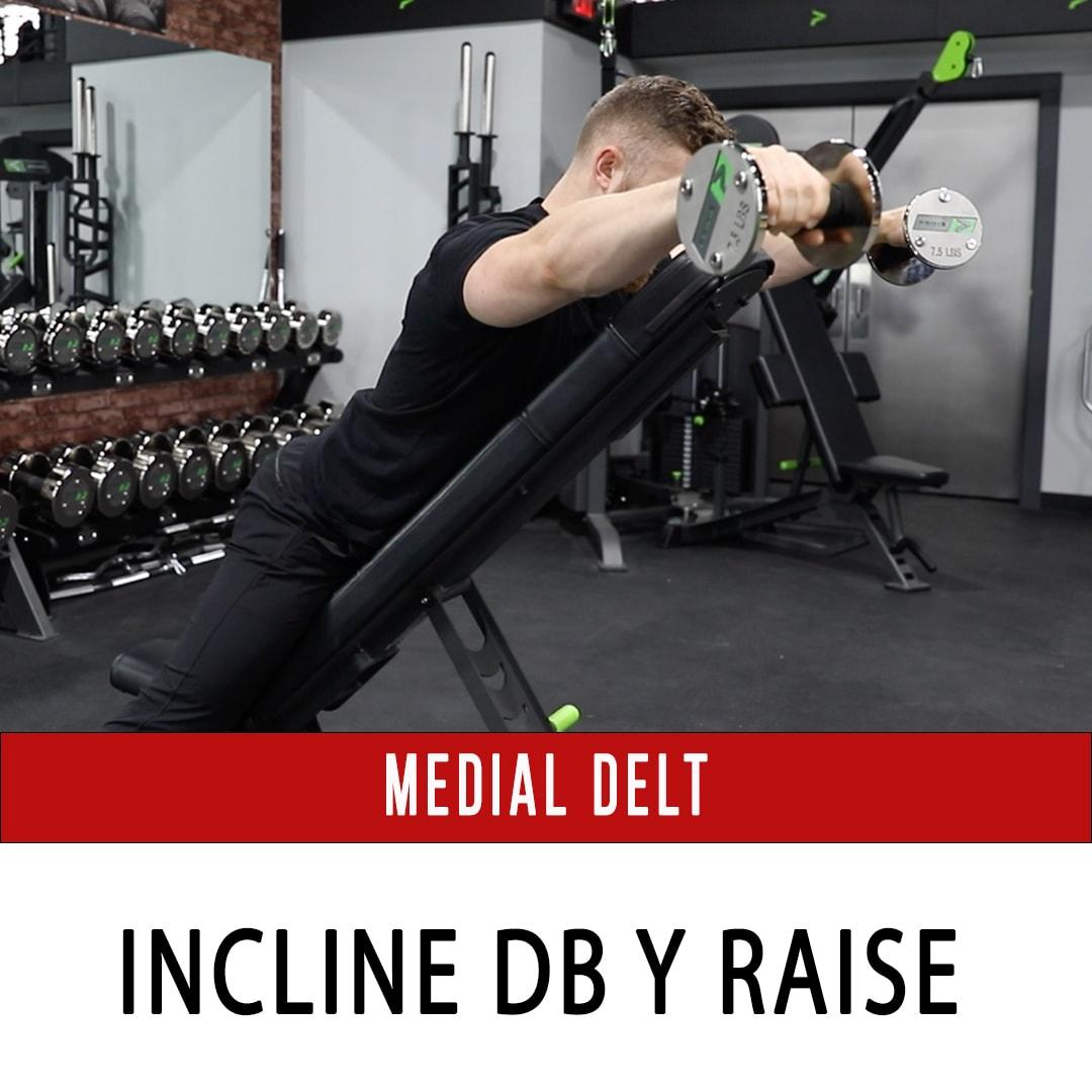 Prone Incline DB Y Raise