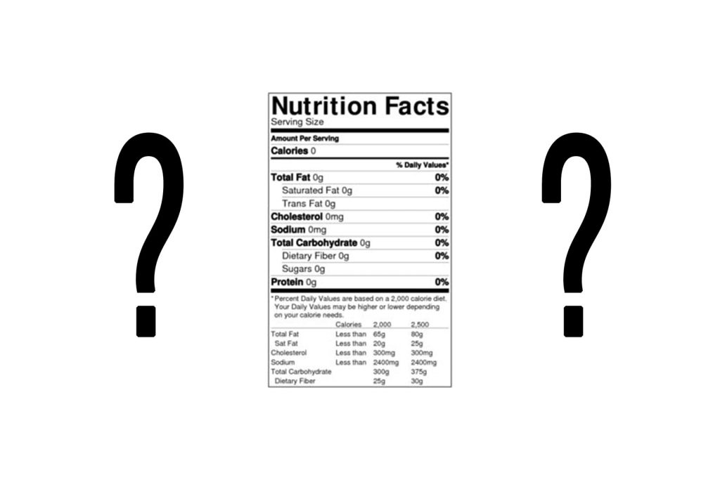 Nutrition Label Deceptions