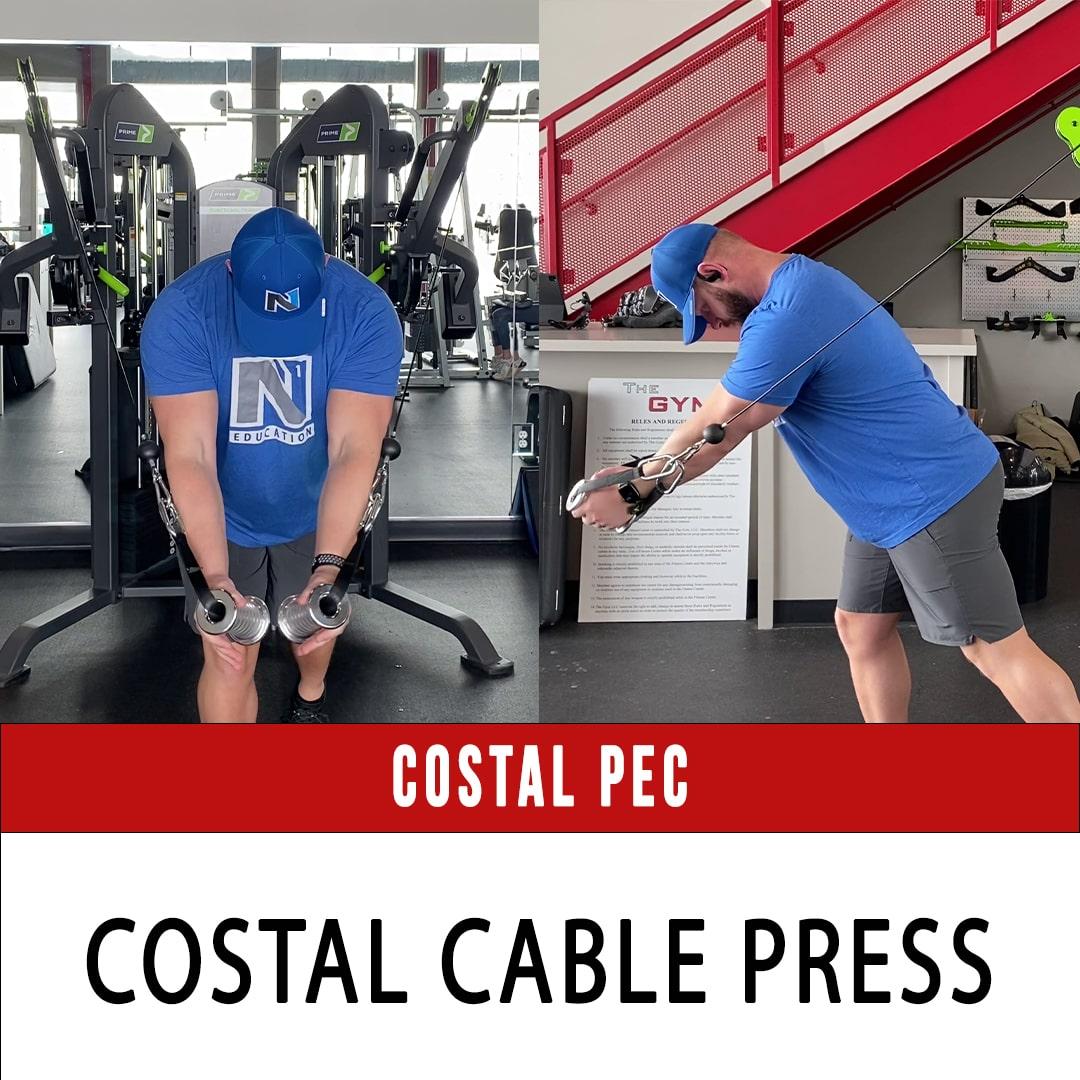 Costal Pec Cable Press
