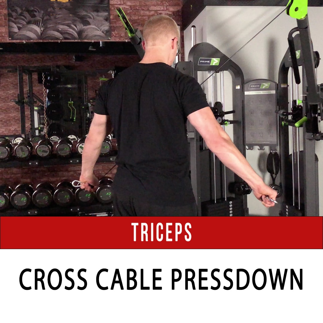 Tricep Cross Cable Extension