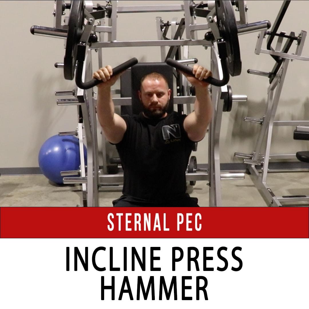 Sternal Pec Incline Press - Hammer