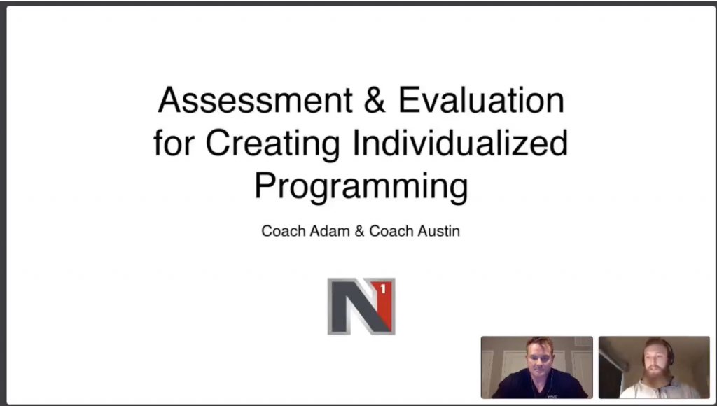 Webinar: Evaluation & Assessment for Custom Program Design