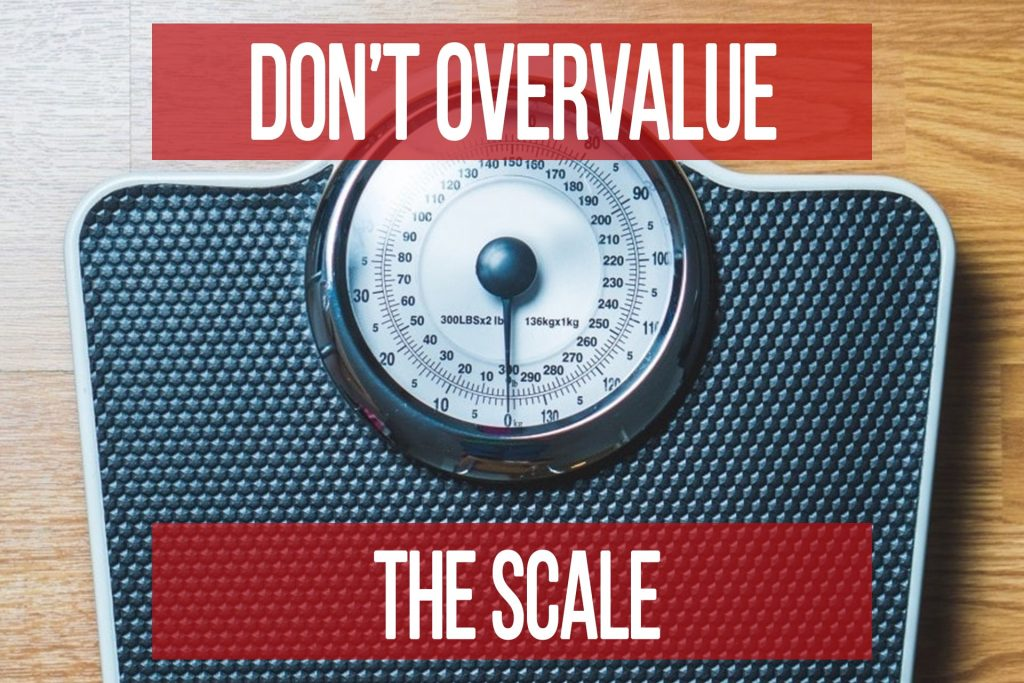"""Don't Put Too Much """"Weight"""" On The Scale"""