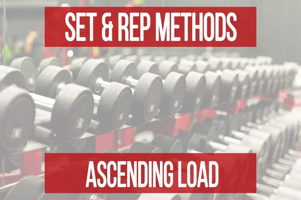 Set & Rep Methods: Ascending Load