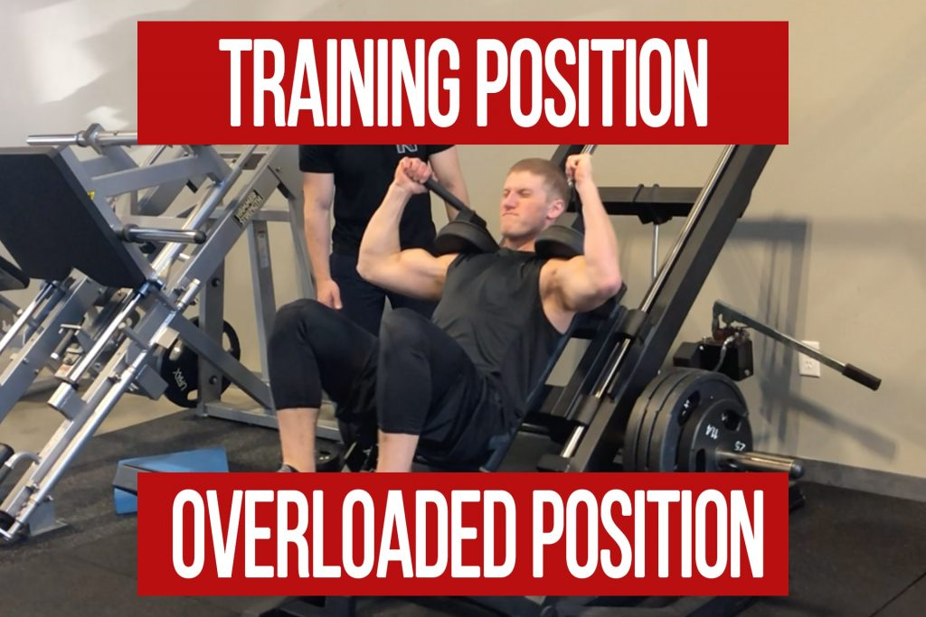 Training Position VS Overloaded Position