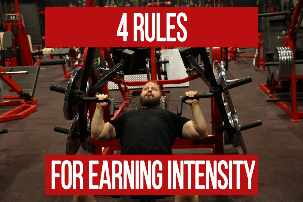 4 Rules for Increasing Training Intensity