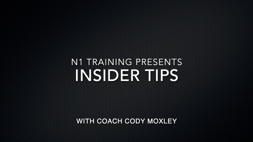 N1 Insider Tip #19 When to Do a Neurological Phase for Hypertrophy