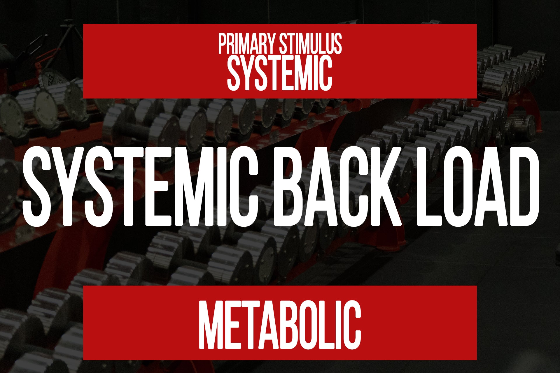 Systemic Backload