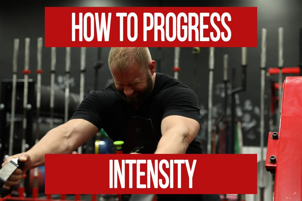 How To Progress Intensity of Contraction