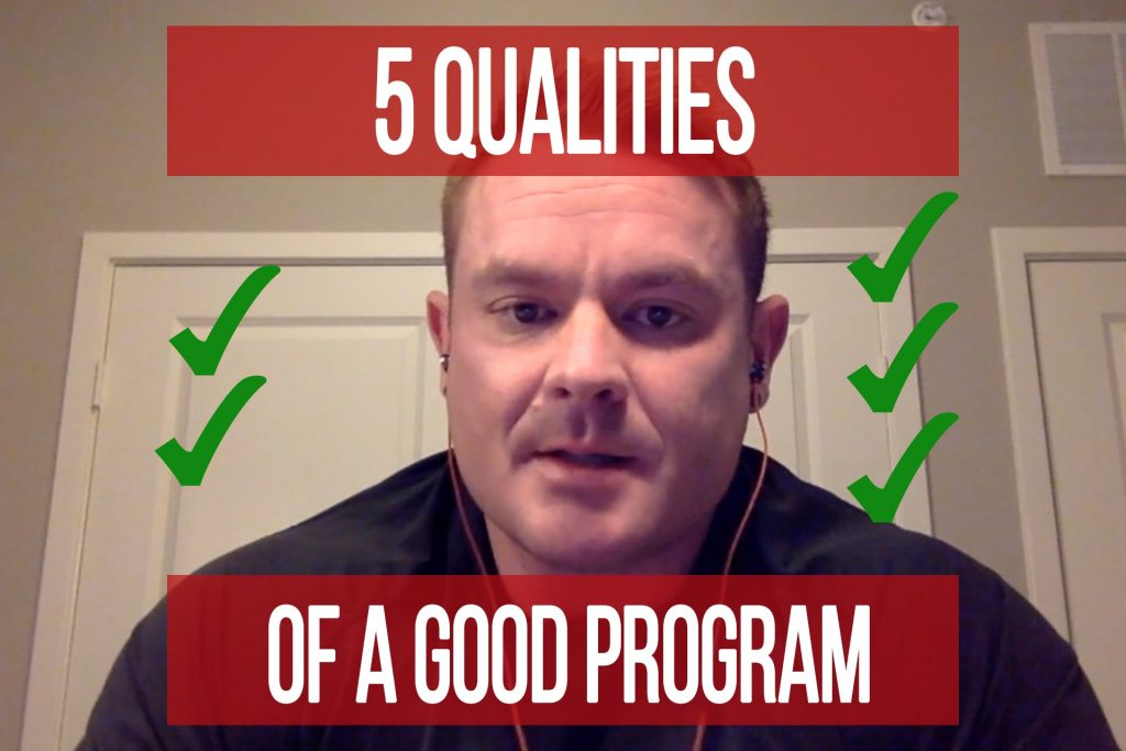 5 Qualities of a Good Training Program