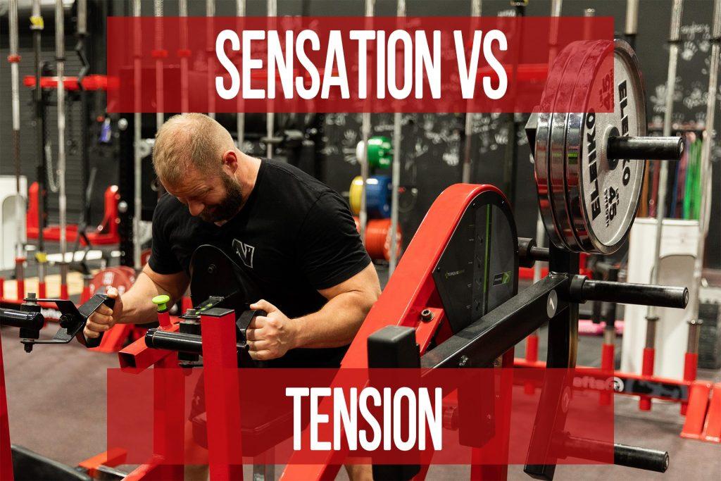 Sensation VS Tension