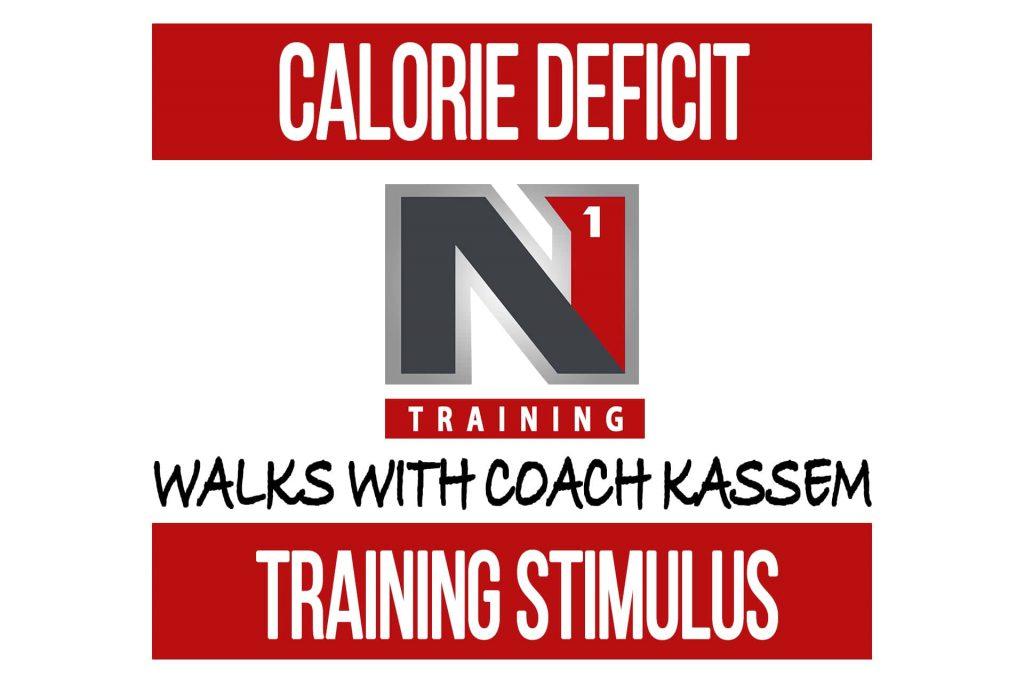 Best Training Stimulus in a Calorie Deficit