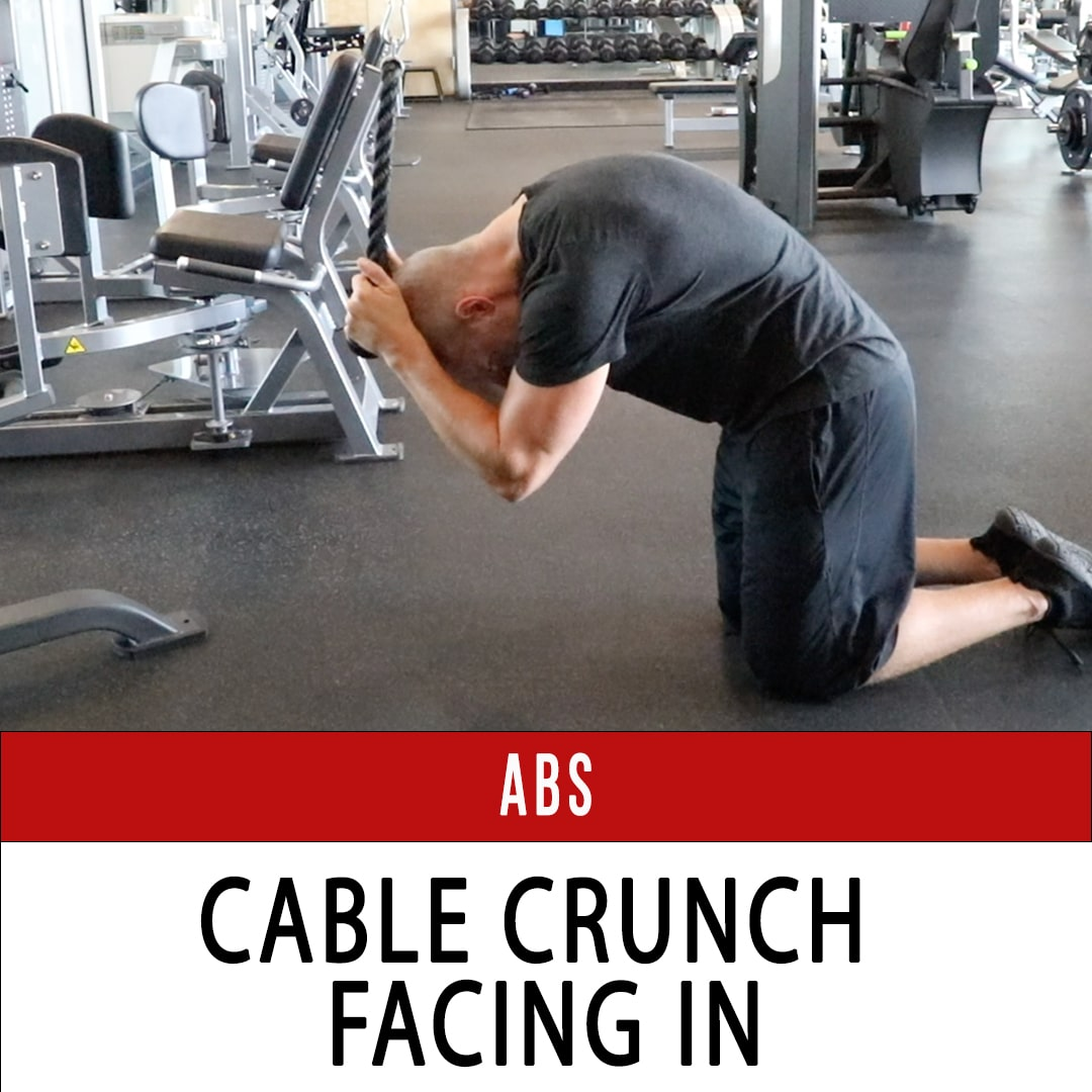 Abs Cable Crunch Facing In