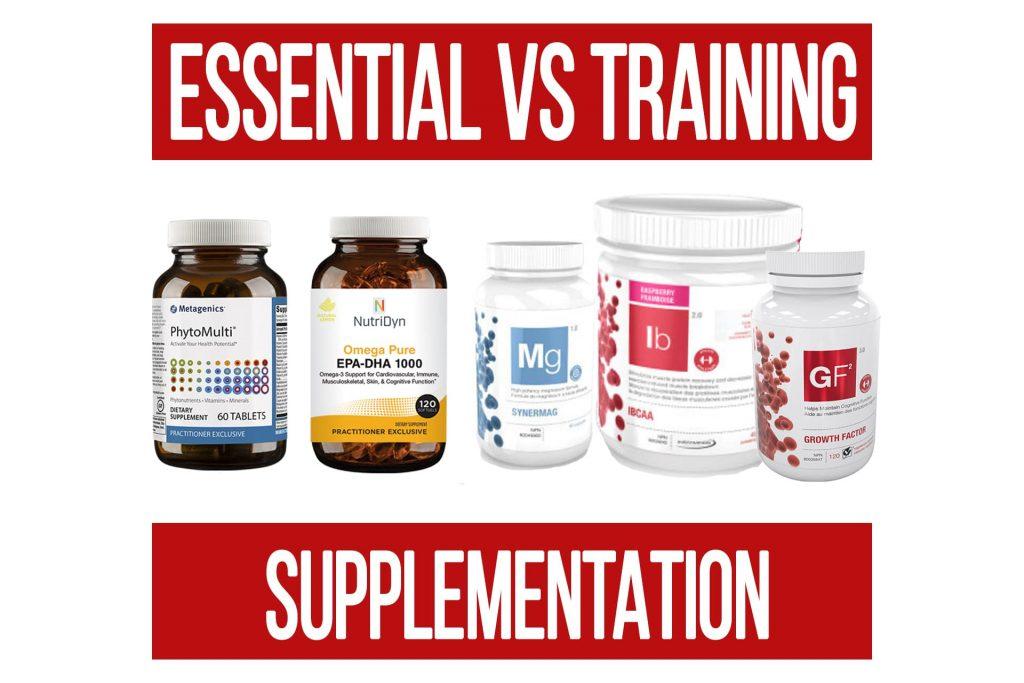 Essential VS Training Specific Supplementation