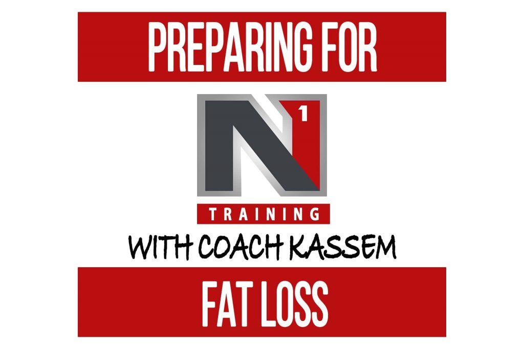 Preparing for Fat Loss