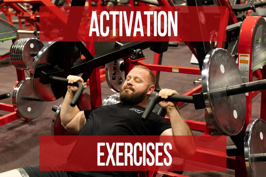 Activation Exercises Aren't Evil, but Shouldn't Be Needed