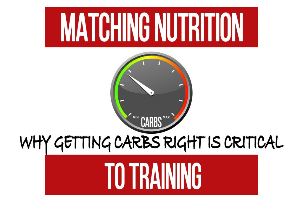 Matching Nutrition to Training: Getting the Carbs Right