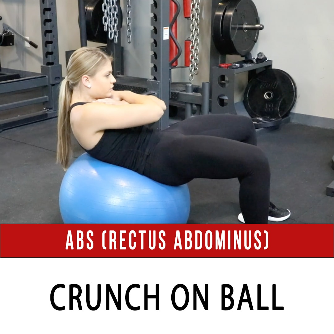 Abs Crunch On Ball