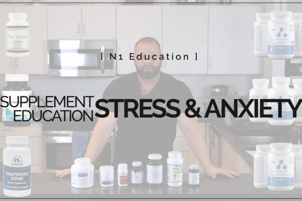 Supplement Education: Stress & Anxiety