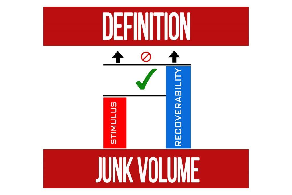 """""""Junk Volume"""" Definition"""