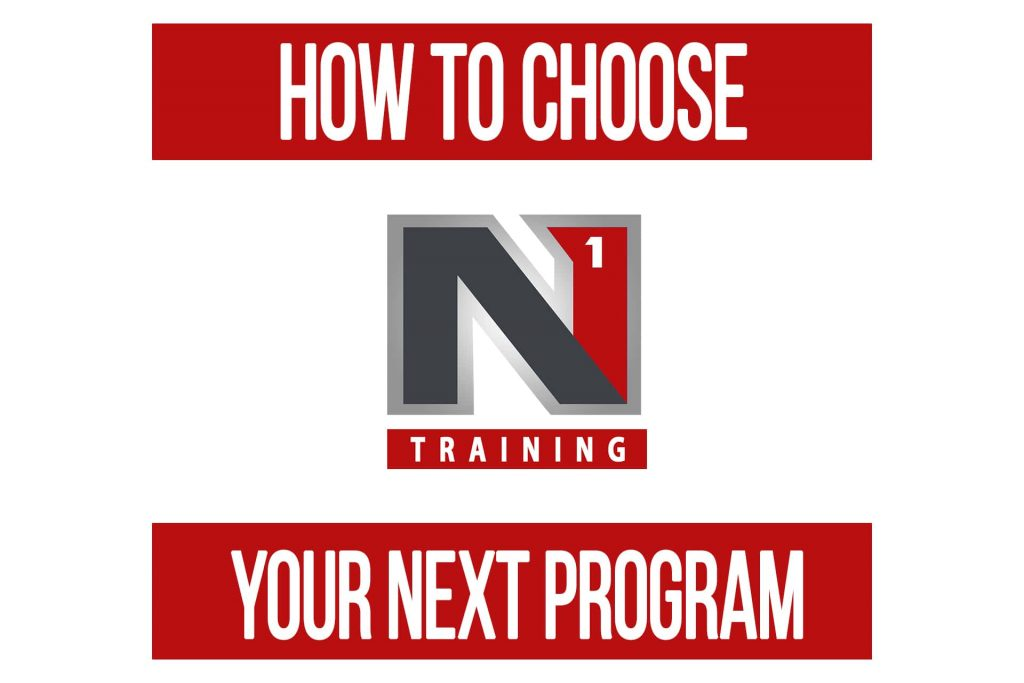 How to Choose Your Next Training Program