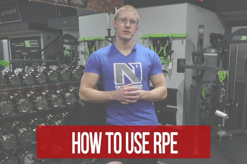 How to Use RPE for Weight Selection