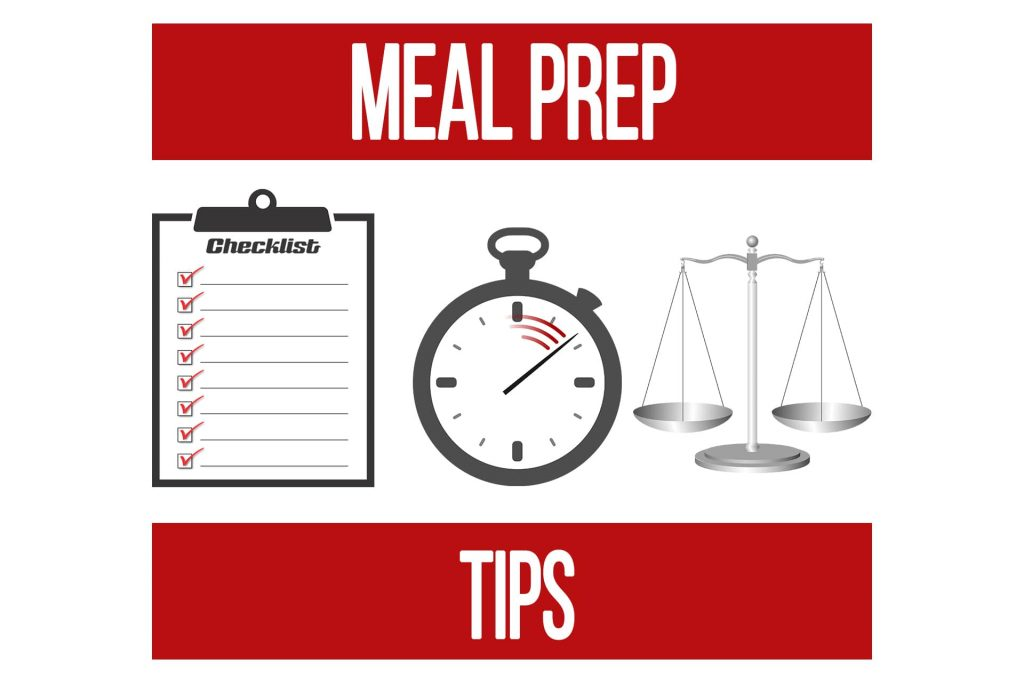 Meal Prep Tips for Greater Efficiency and Ease