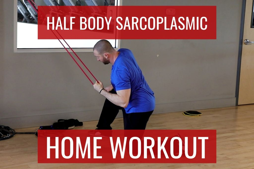 Half Body Home Workout Program for Hypertrophy, Recomposition, or Fat Loss