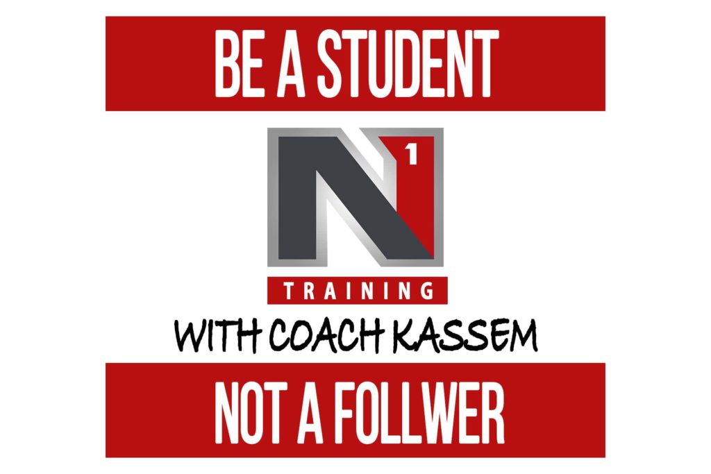 Be a Student, Not a Follower