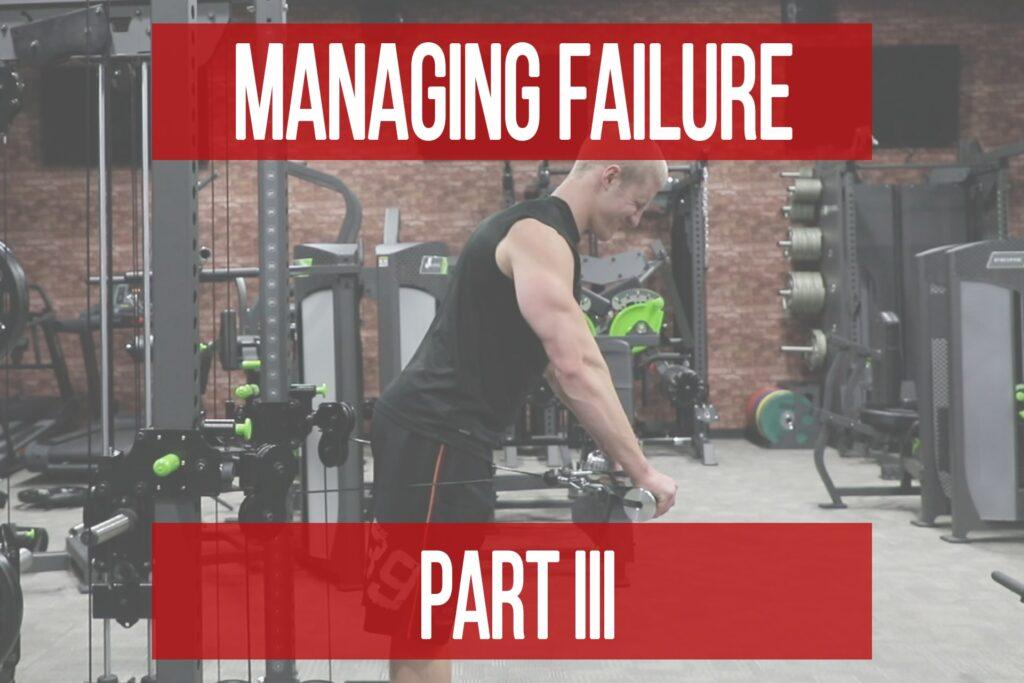 Failure Management Part 3: Coaching Perspectives