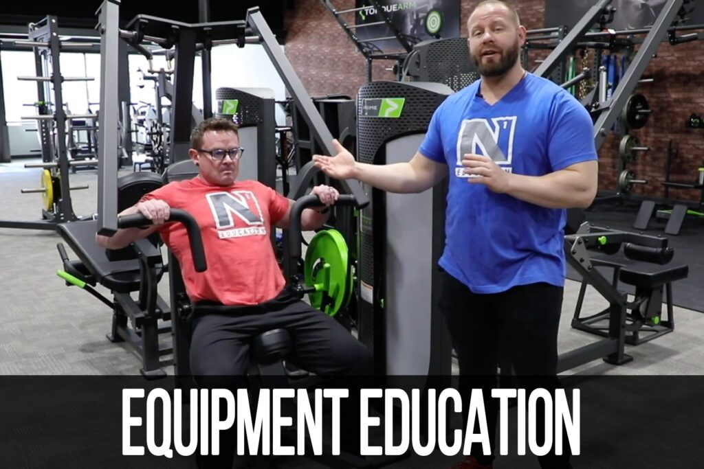 Equipment Education: Hybrid Chest Press