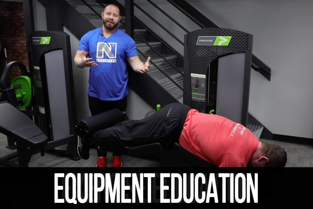 Equipment Education: Evolution Lying Leg Curl