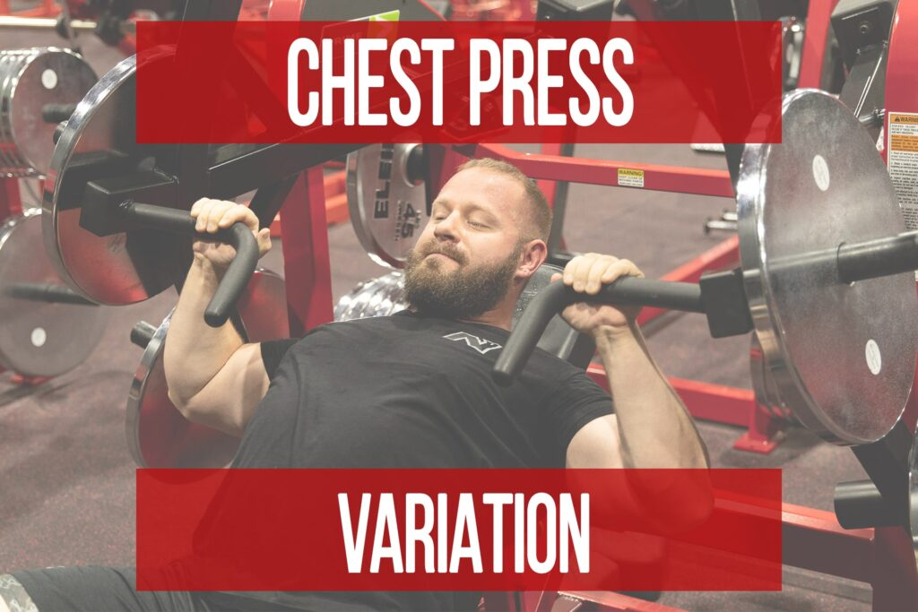 Vary Your Chest Presses