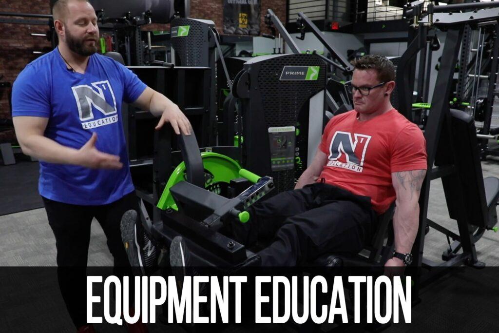 Equipment Education: Leg Extension