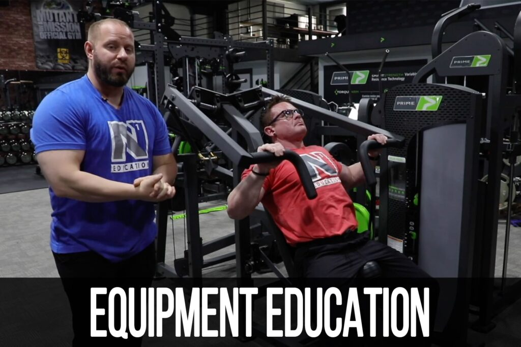 Equipment Education: Hybrid Incline Press