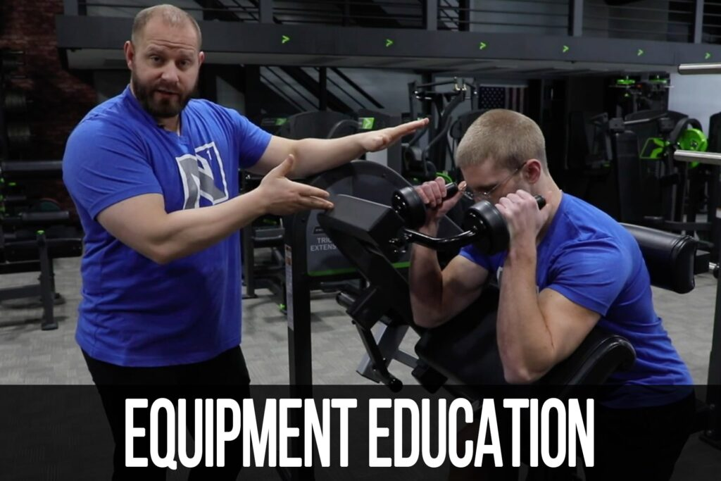 Equipment Education: Tricep Extension Machine