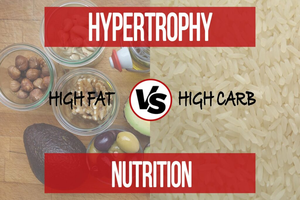 High Fat VS High Carb for Hypertrophy