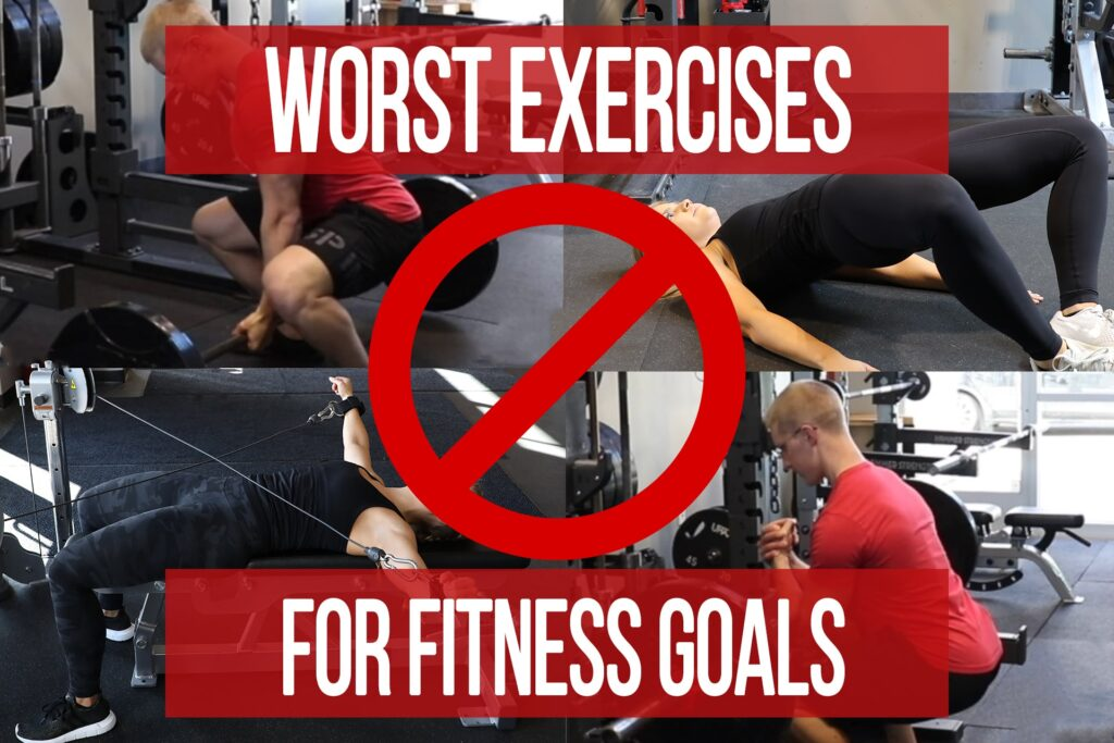 Worst Exercises for Fitness Goals