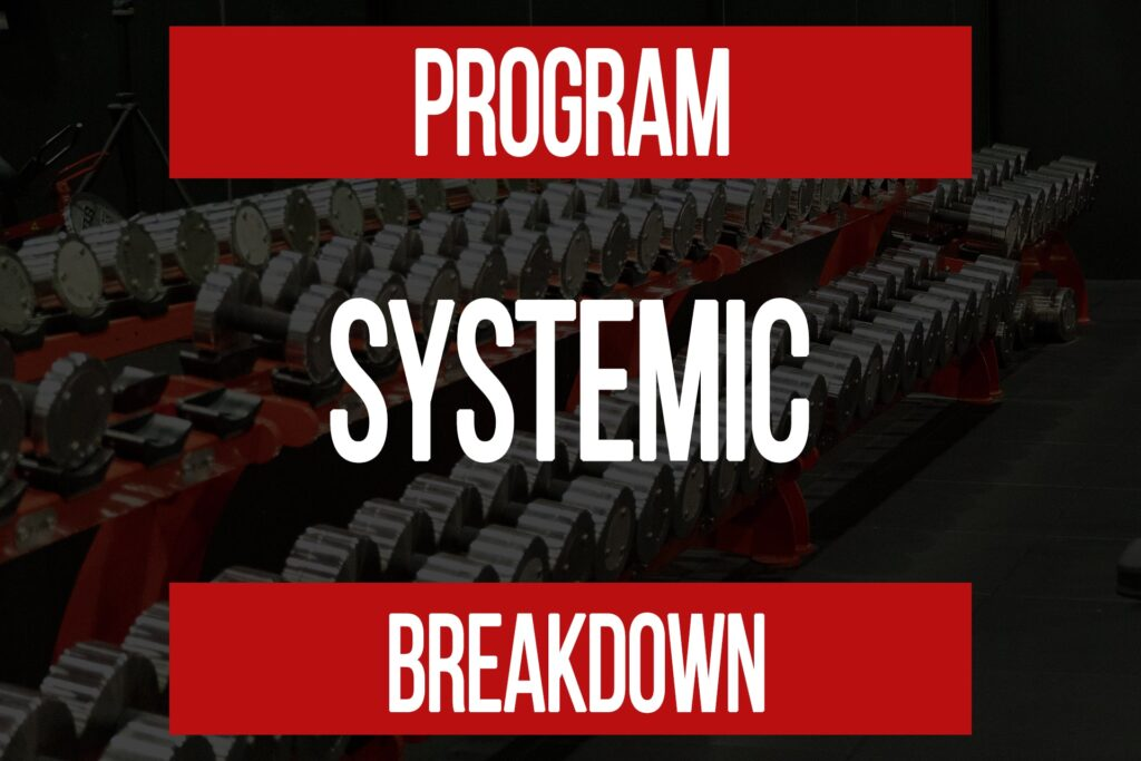 Program Breakdown: Full Body Compound & Systemic Back Load