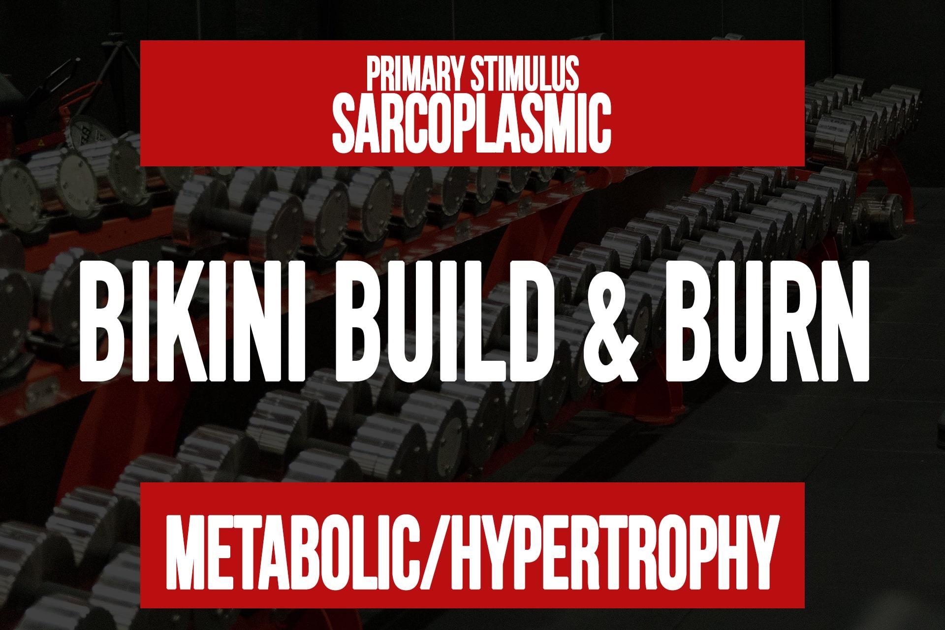 Bikini Build & Burn