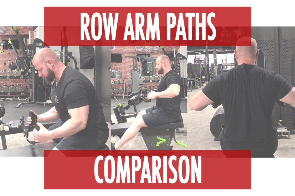 Row Arm Paths for Muscle Bias