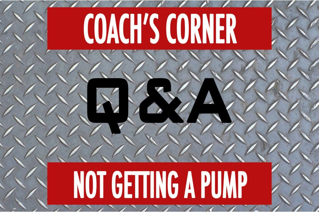 Coach's Corner Q&A: Why No Pump with IRM?